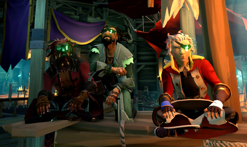 Rough Seas In High Stakes Sea Of Thieves Competitions